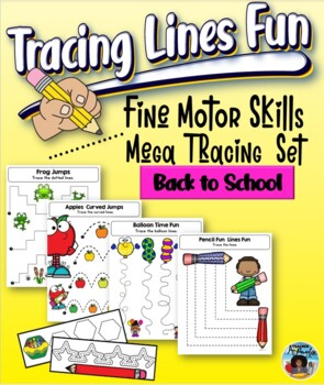 Fine Motor Skills - Tracing Lines Fun {Back to School}