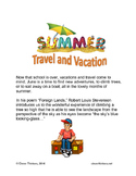Summer: Travel and Vacation
