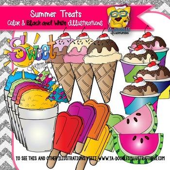Summer Treats Clipart