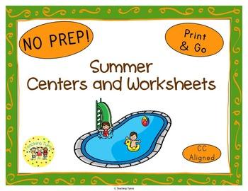 Summer Seasons Worksheets Activities Games Printables and More