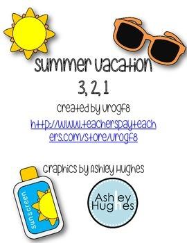 Summer Vacation 3, 2, 1 FREE