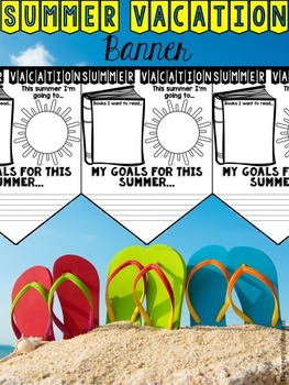 Summer Vacation Banner