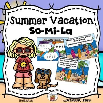 Summer Vacation Interactive Game (So-Mi-La)