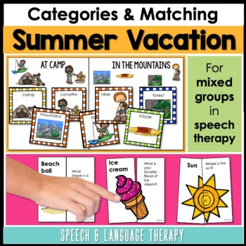 Summer Vacation for Speech & Language Therapy - Younger El