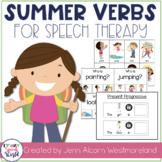 Summer Verbs!  Grammar Activities for Verb Tense & Sentences