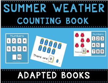 Summer Weather Counting Books (Adapted Books)
