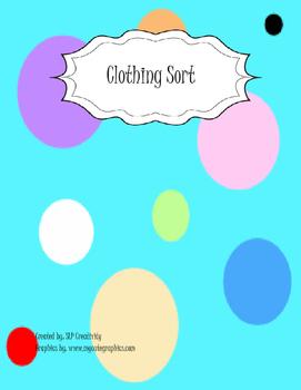 Summer/Winter Clothing Sort