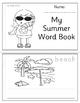 Summer Word Book