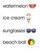 Summer Word Wall/Vocabulary