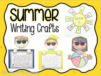 Summer Writing Crafts
