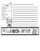 Summer Writing Flip Book Template