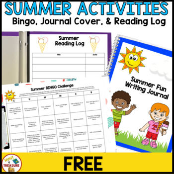 Summer Writing Journal Cover