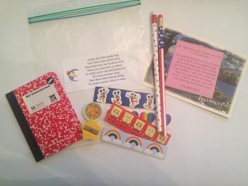 Summer Writing Kit Label