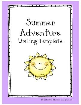 Summer Writing Outline