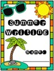 Summer Writing Packet (Special Education)