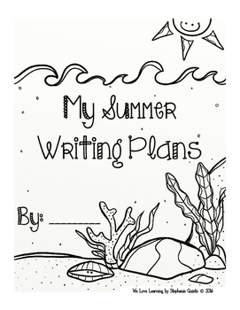Summer Writing Plans