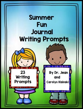 Summer Writing Prompts Journal