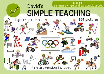Summer olympic sports and equipment and paralympic sports