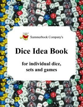 Summerbook Company's Dice Idea Book for Individual Dice, S