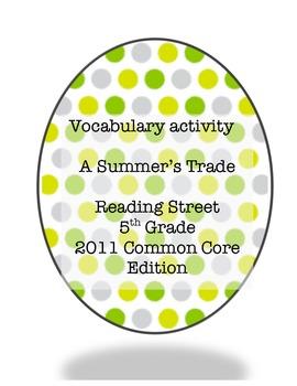 Summer's Trade Vocabulary