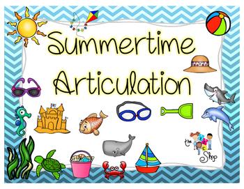 Summertime Articulation Pack