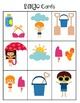 Summertime Prepositional Directions BINGO