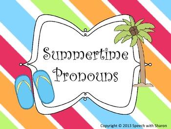 Summertime Pronouns