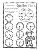 Summertime - Spin the Time: Telling time to the :00 (o'clo