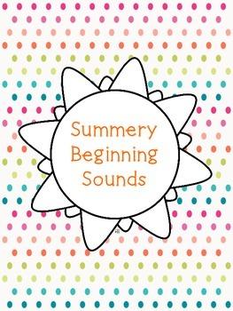 Summery Beginning Sounds