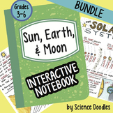 Sun, Earth, Moon Interactive Notebook BUNDLE by Science Doodles