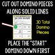 Sun, Earth, and Moon - Science Domino Review Activity