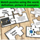 Solar System: Sun, Earth and Moon Systems Vocabulary Puzzles