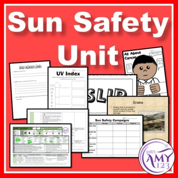 Sun Safety and Skin Unit- 3 Year Level Planners and Resour