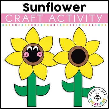 Sunflower Cut and Paste