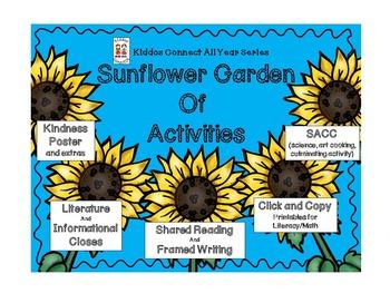 Sunflower Garden of Activities - Kiddos Connect to Kindnes