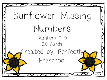 Sunflower Missing Numbers