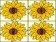Sunflower Number Flashcards 0-100
