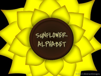 Sunflower Word Wall Tags