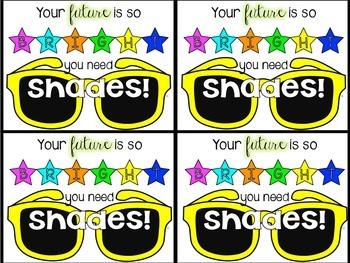 Sunglass Gift Labels