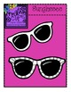 Sunglasses {Creative Clips Digital Clipart}
