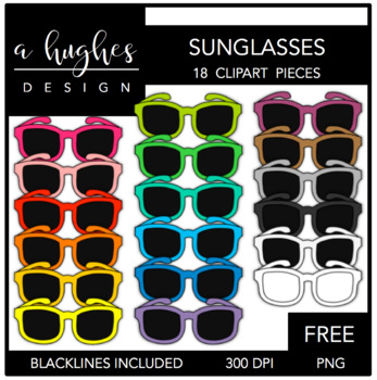 FREE Sunglasses {Graphics for Commercial Use}