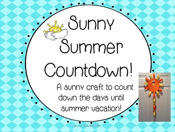 Sunny Countdown to Summer!