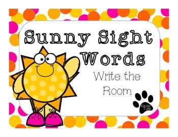 Sunny Sight Words