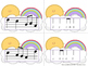 Sunny Skies Melody Matching--A stick to staff notation gam
