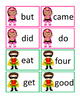 Superhero Dolch Primer Sight Words