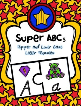 Super ABCs Freebie (Upper & Lower Case Puzzles)