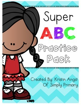 Super Alphabet Practice Pack