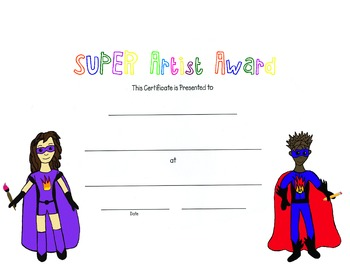 Super Artist Award