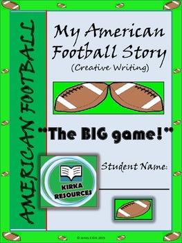 Super foot Bowl - Creative Writing