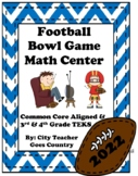 Super Bowl 2017 Word Problems - Math Center (3rd-4th grade